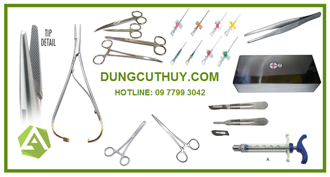dụng cụ phẫu thuật