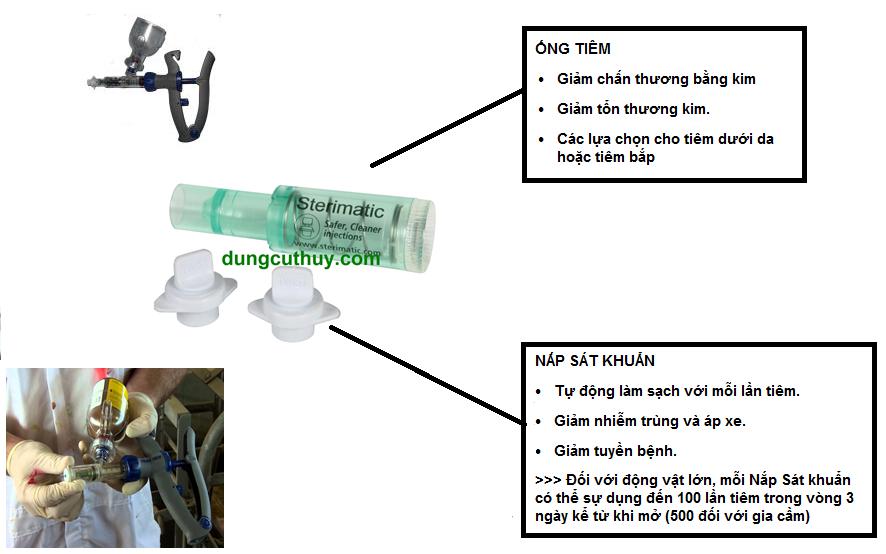 ống tiêm xát khuẩn